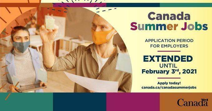 Canada Summer Jobs Deadline Extended