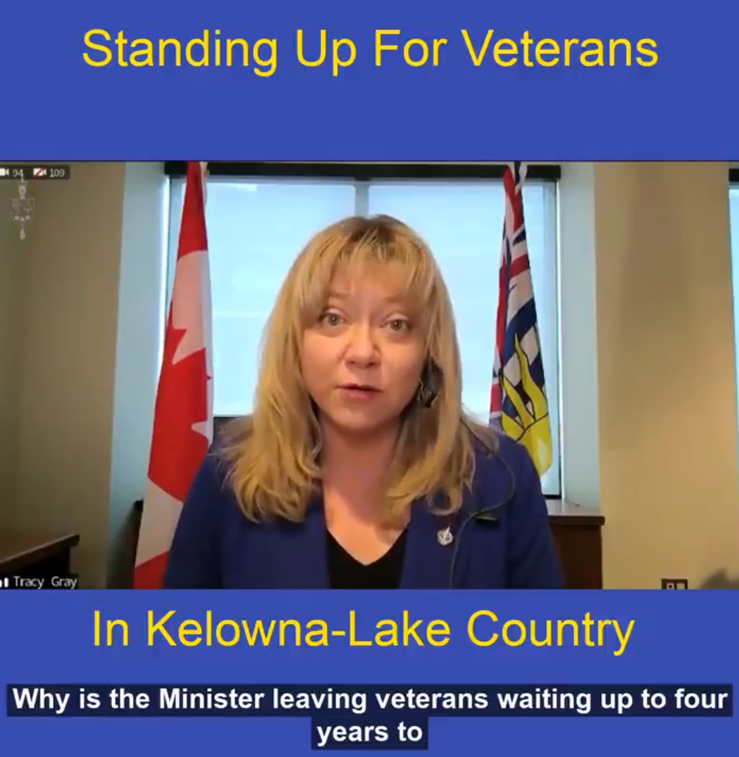 Standing up for veterans in our community