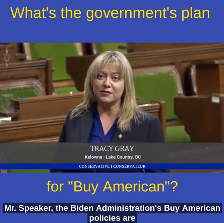 'Buy American' is threatening Canadian jobs