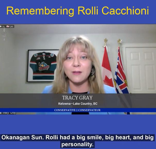 Remebering Rolli Cacchioni