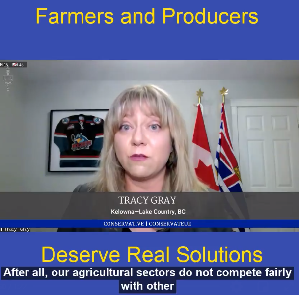 Farmers and producers deserve real solutions