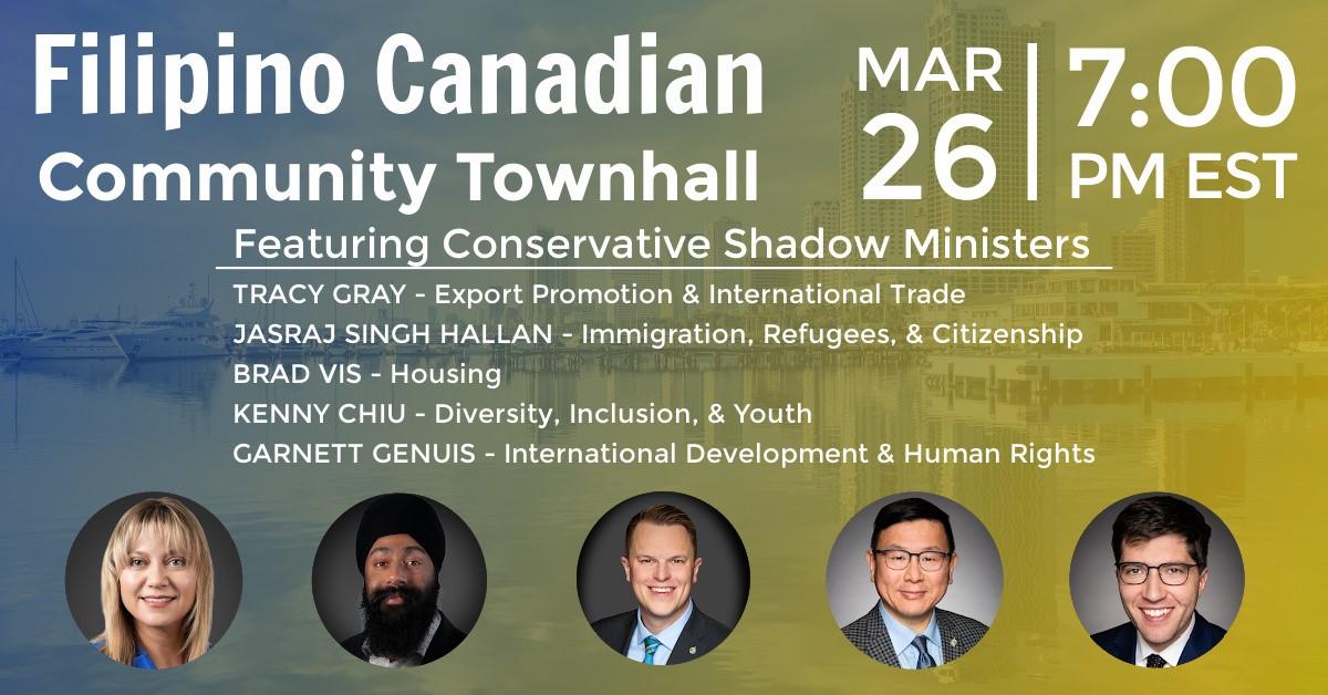 Filipino Canadian Community Townhall