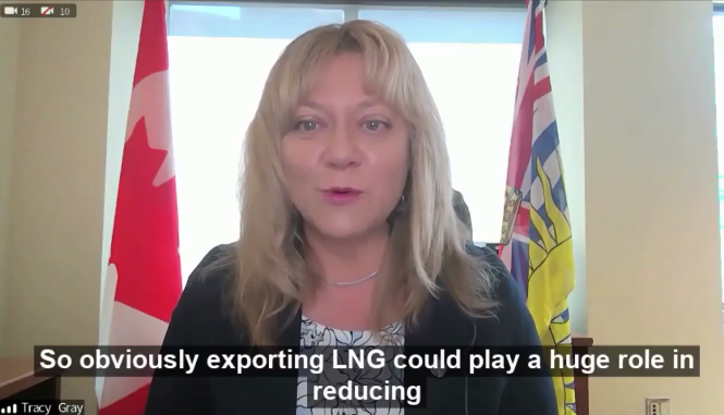 Canadian LNG exports will help reduce global emissions