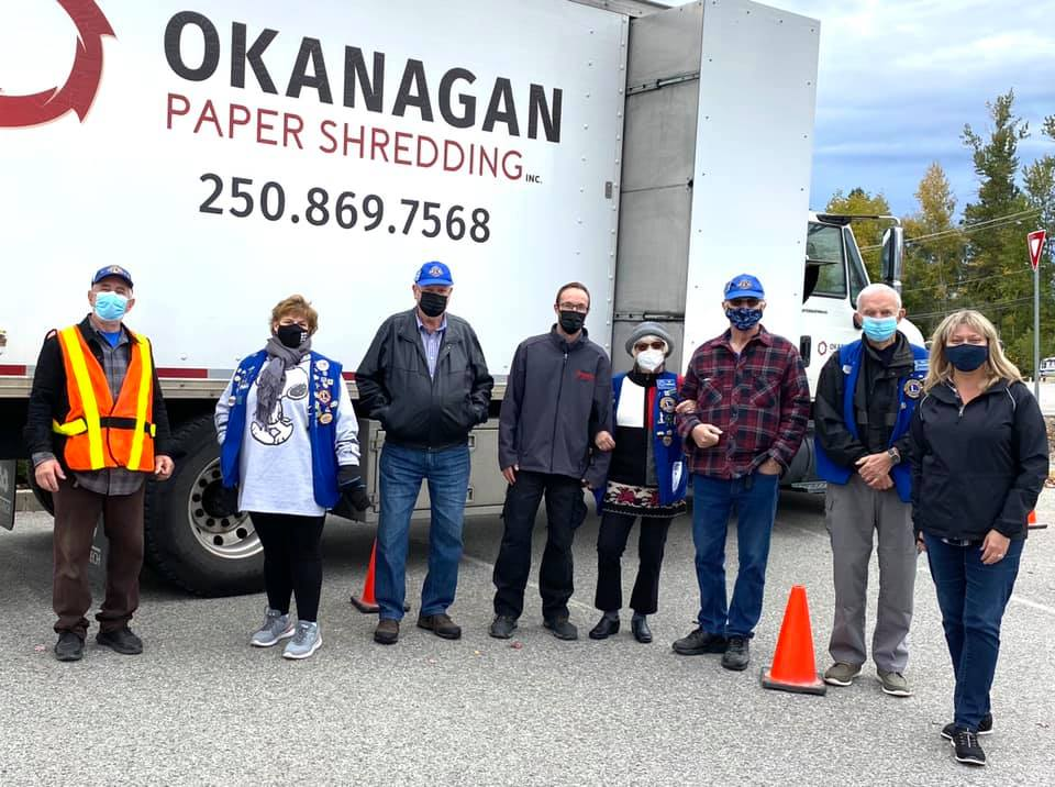 Lake-Country Winfield Lions Club Paper Shredding Event