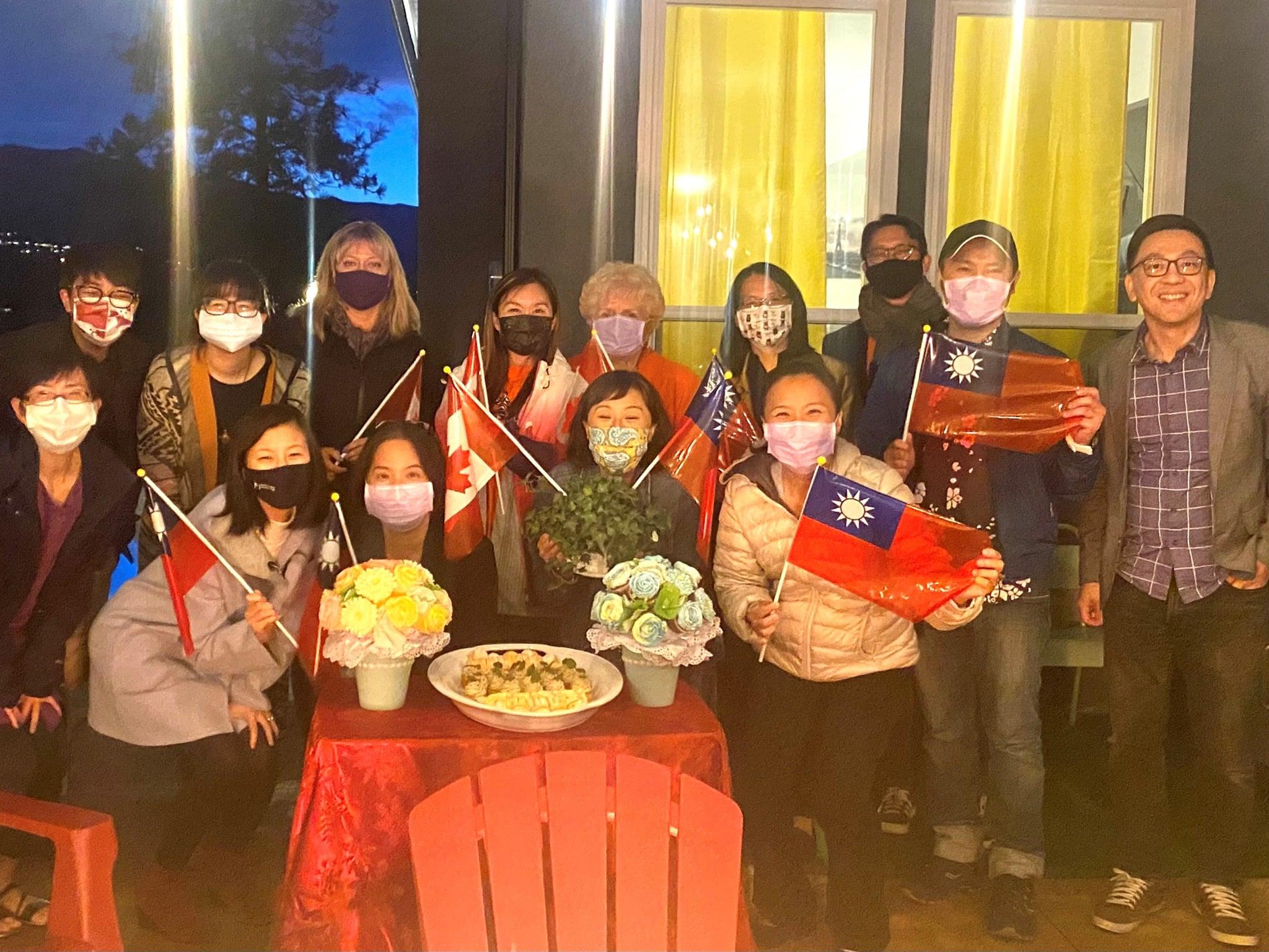 Meeting with Kelowna Taiwanese Cultural Society