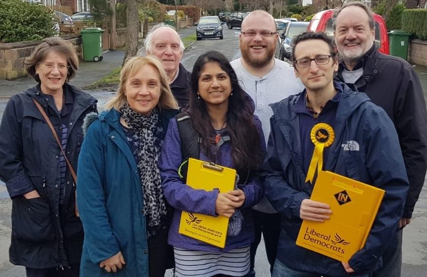 Trafford Lib Dems Launch Local Election Campaign