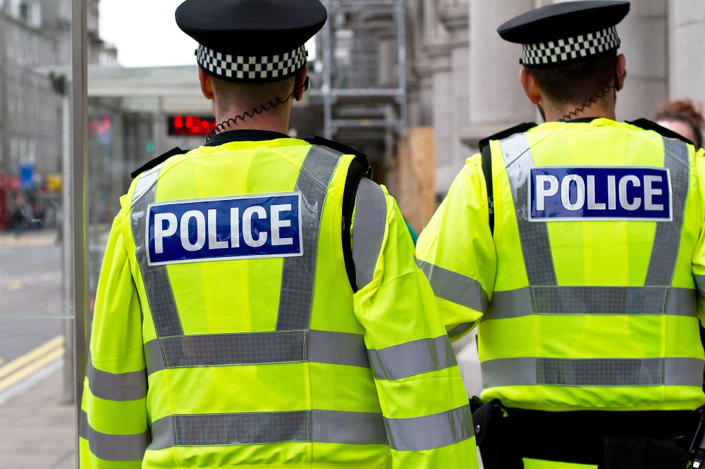Dodgy police figures from a dodgy government