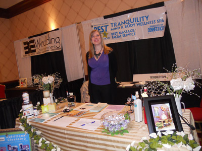 Tranquility Mind & Body Sponsor at the 2012 CT Bride Expo