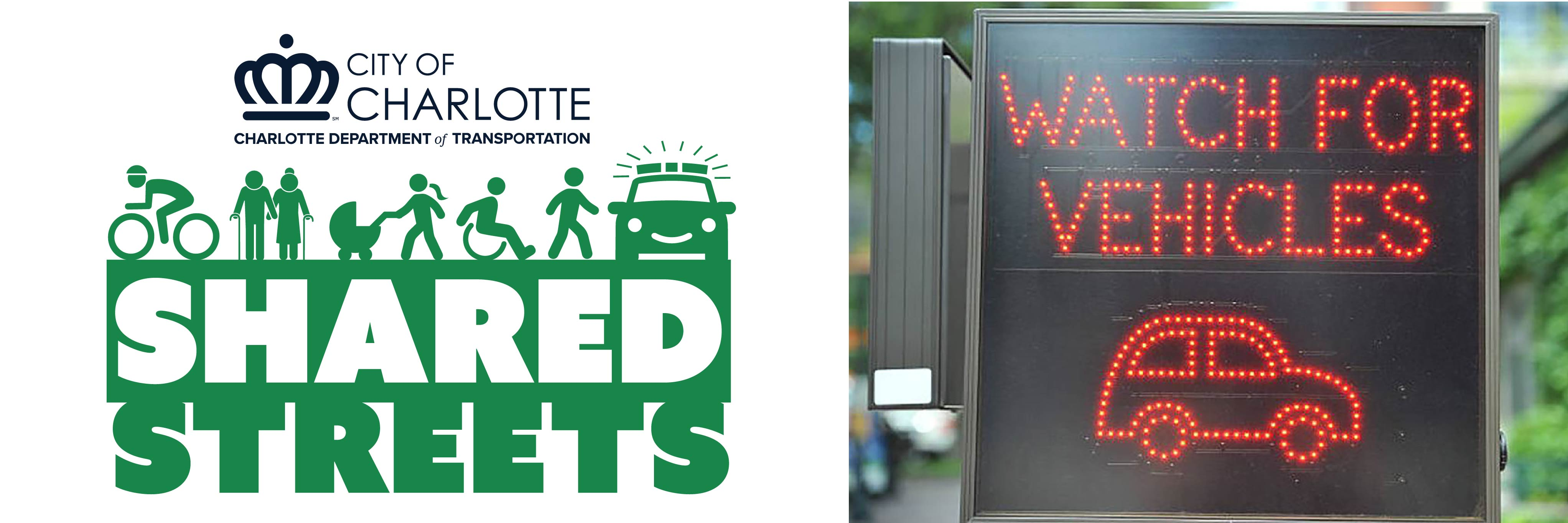 Charlotte Shared Streets Logo