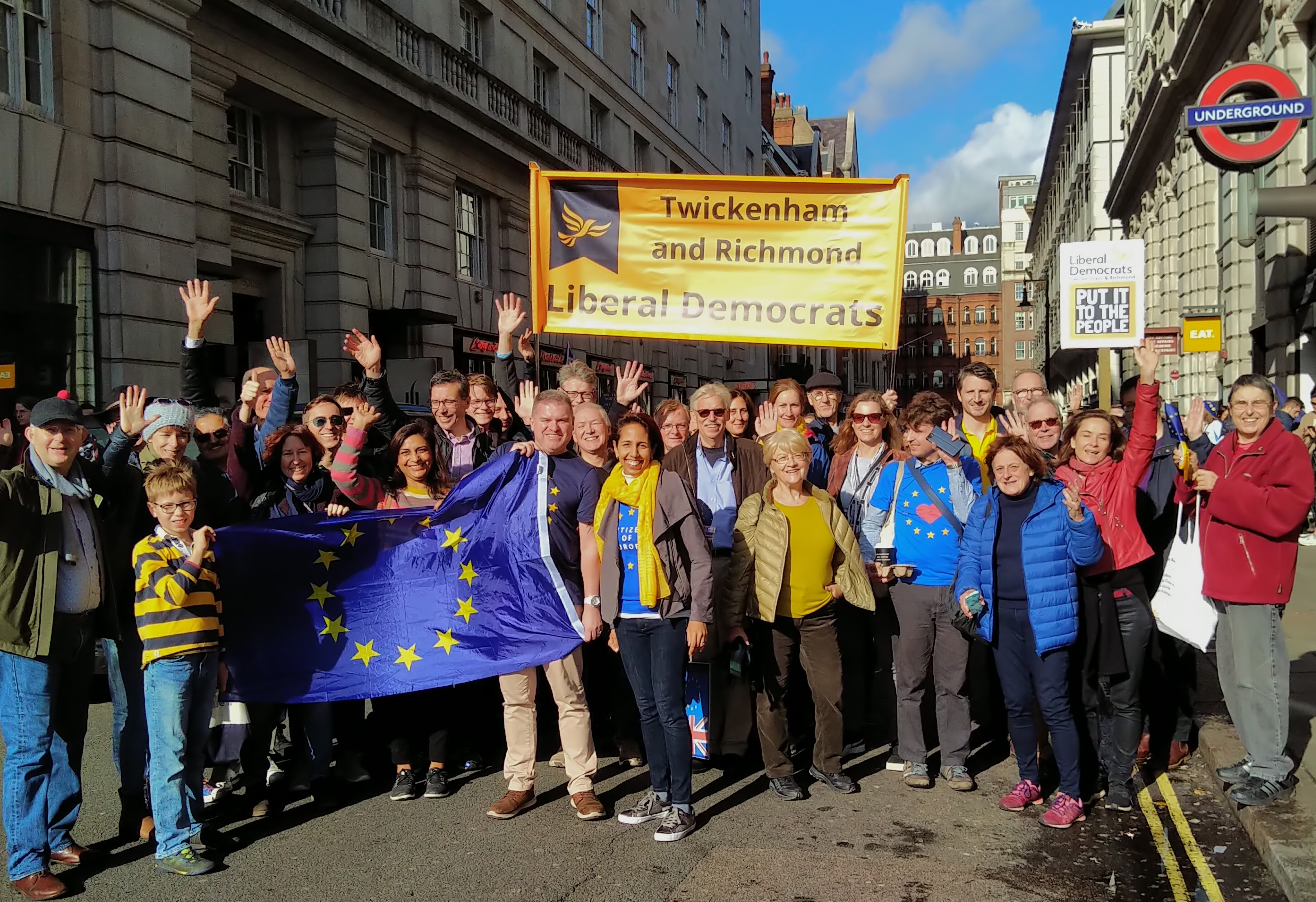 Twickenham and Richmond March for a People's Vote