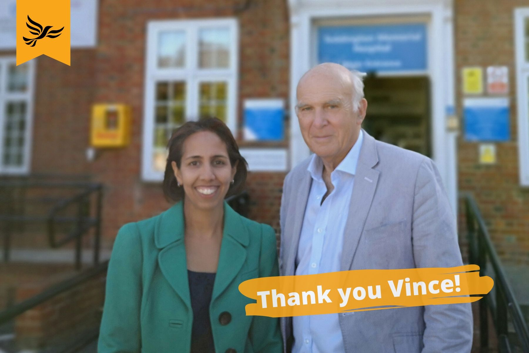 Munira Wilson: Help me continue Vince Cable's work