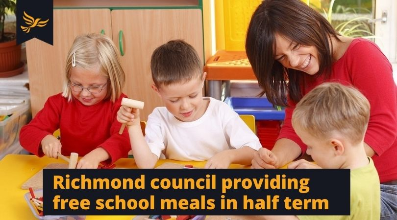 Lib Dems ensure free school meals in half term after Tories fail hungry children