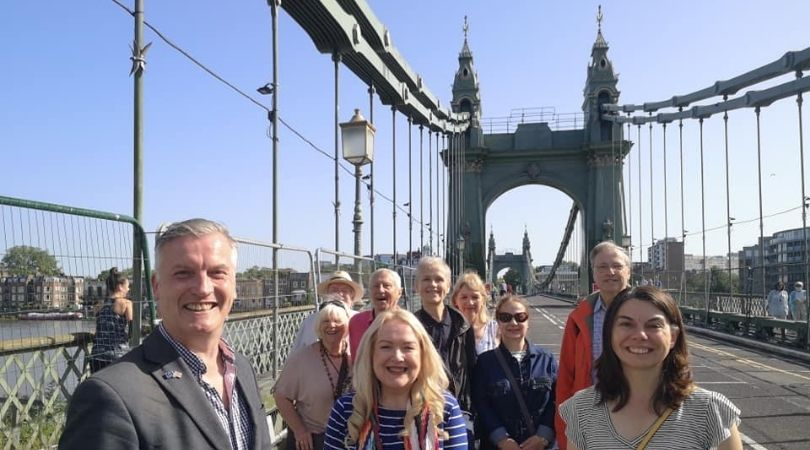Hammersmith Bridge reopens - but Lib Dems continue push for permanent repairs