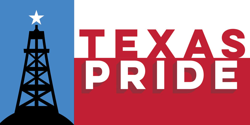 FREE Texas Pride Bumper Sticker