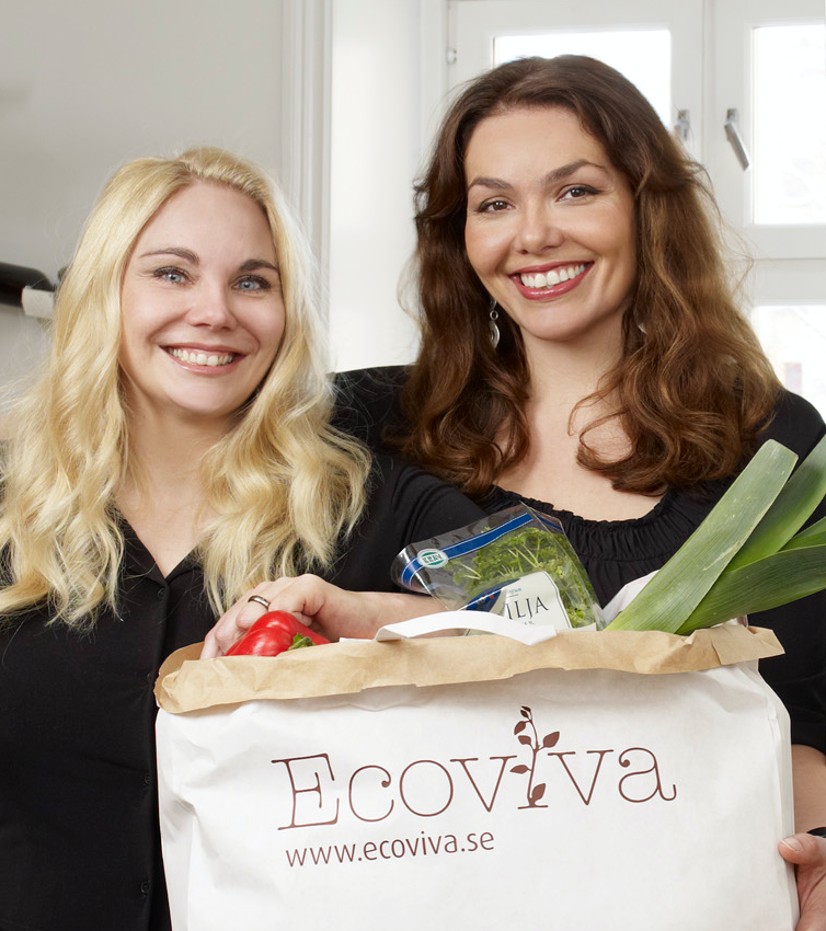 Amina Bergendahl  and Annika Riis Kristoffersson