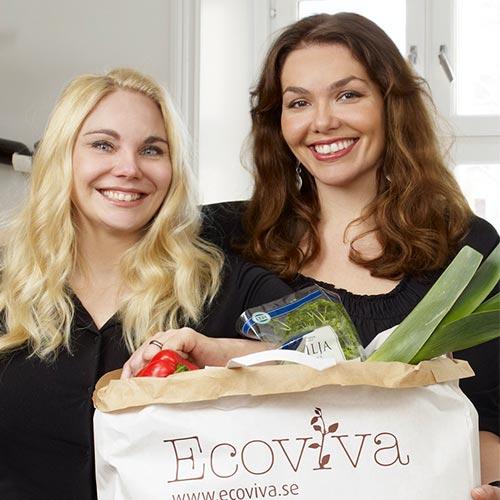 Annika Riis Kristoffersson and Amina Bergendahl