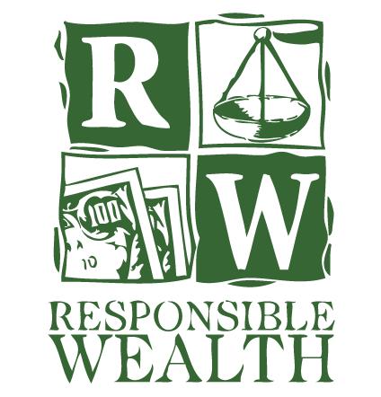 Logo del Proyecto Riqueza con Responsabilidad (en inglés)