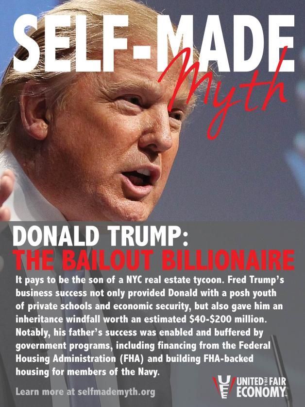 Self-Made Myth: Donald Trump