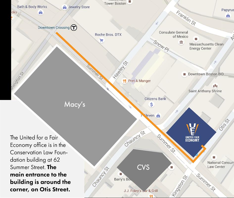 Map to UFE