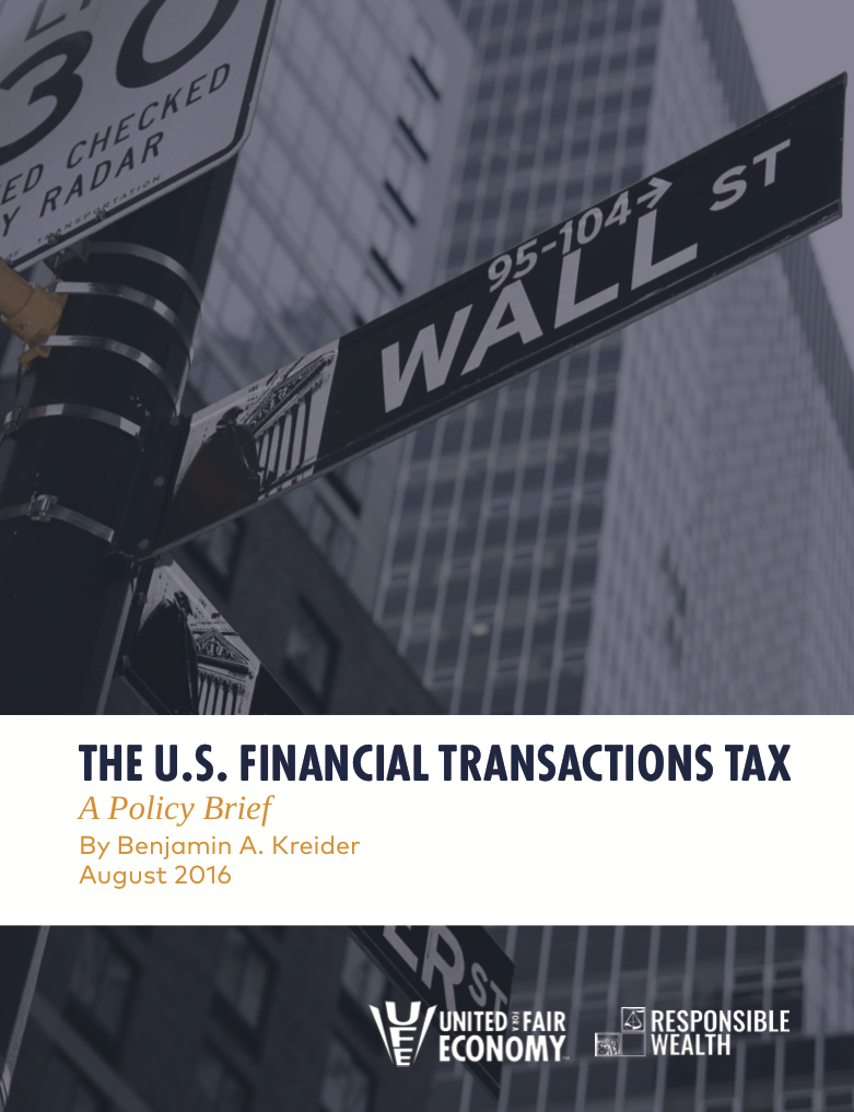 Financial Transaction Tax Primer