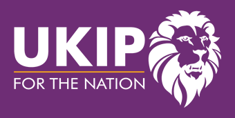 UKIP Logo - negative version