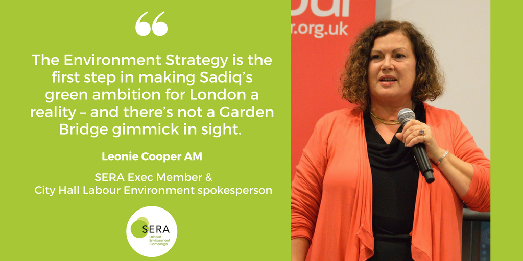 Leonie Cooper London Environment Strategy
