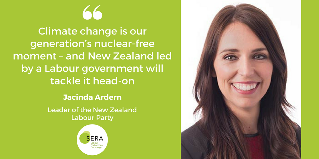 Jacinda Ardern on fighting climate change in New Zealand