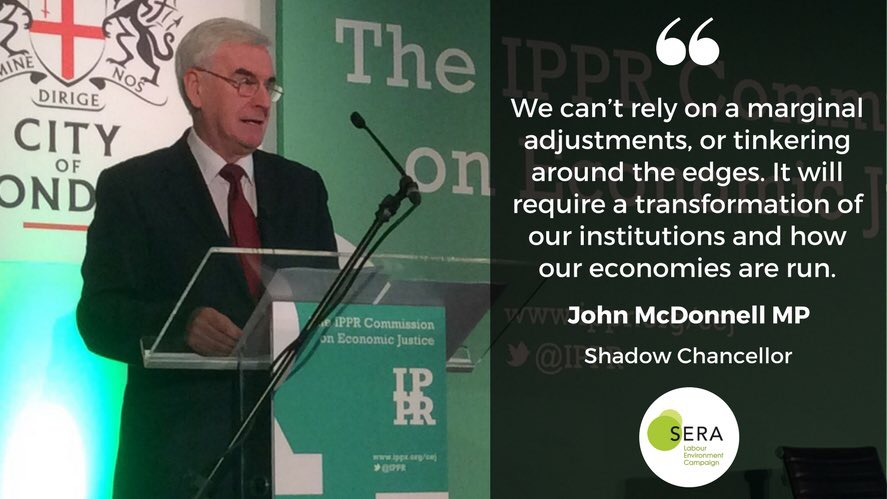 John McDonnell MP on climate change