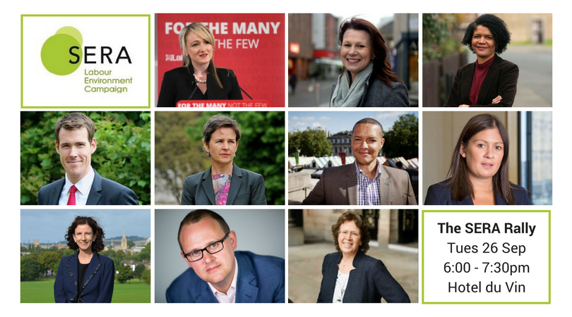 Some of the Confirmed Speakers for the SERA Rally