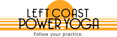 Left Coast Power Yoga Logo