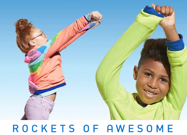 Rockets of Awesome logo