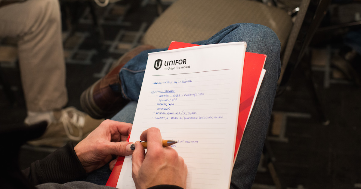 Unifor's Political Project image