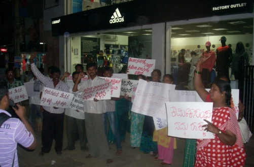 Indian Adidas Workers Stand in Solidarity!