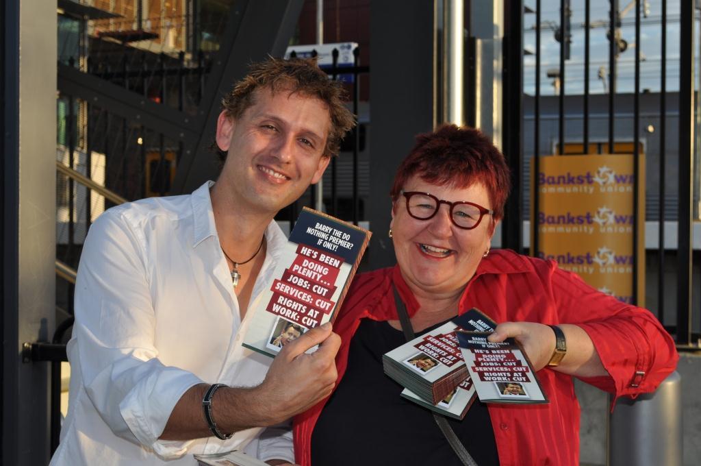 Action Stations - East Hills Bankstown event flyer handout