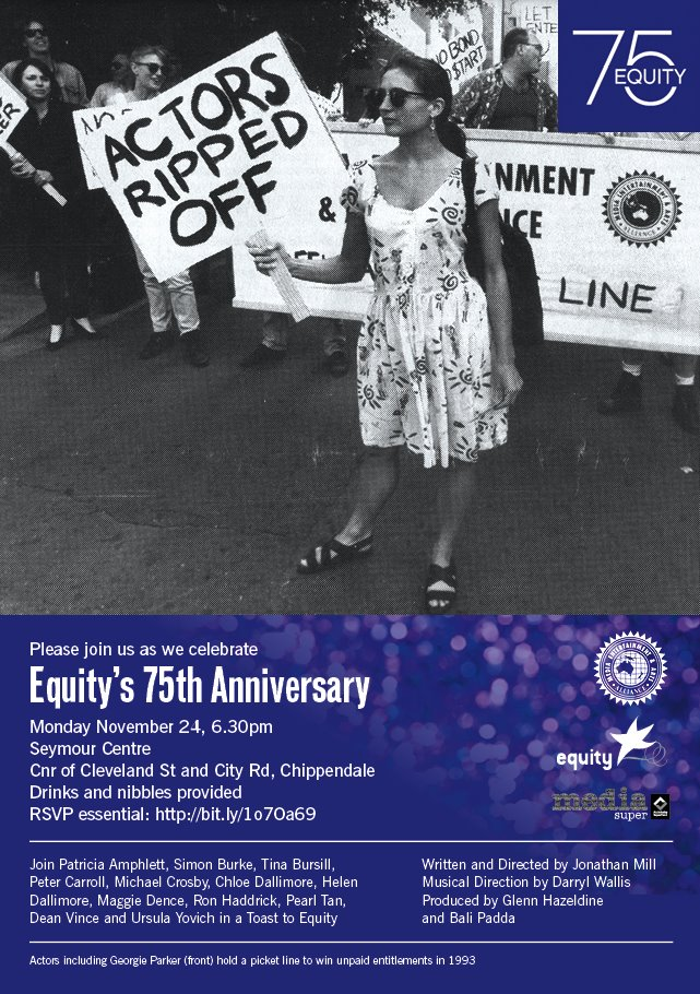 Equity's 75th Anniversary