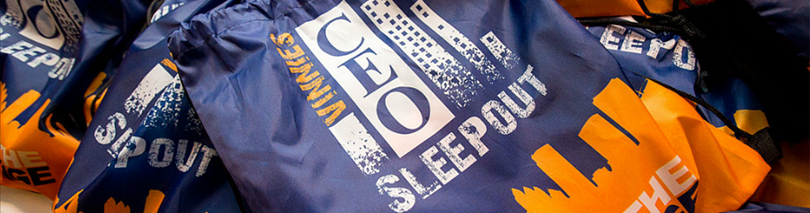 Donate to the CEO Winter Sleepout