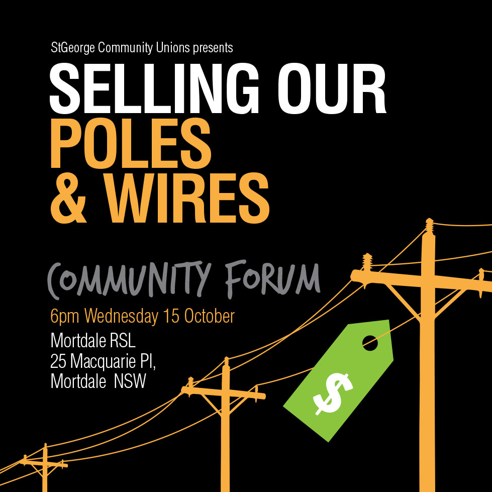 Selling our Poles & Wires Community Forum