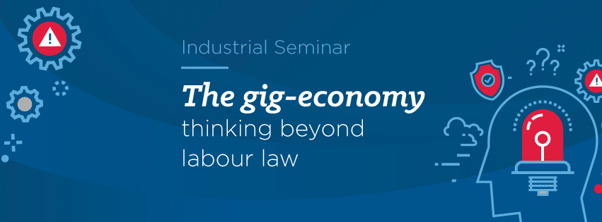 The gig-economy: thinking beyond labour law