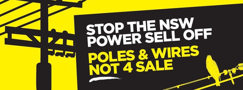Action Stations - Stop the Sell Off flyer handout
