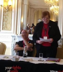 Lynne Morris - NW Labour Party Conf - Nov13