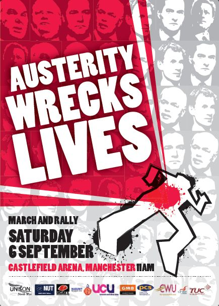 060914 Poster - Austerity Wrecks Lives
