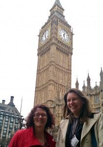 Linda Boyer and Sue Glithero