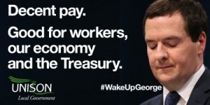 Wake up George