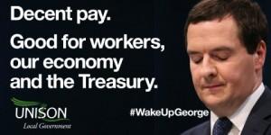 Wake up George