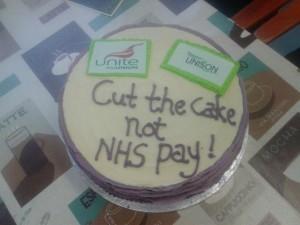 NHS pay breaks McrMH