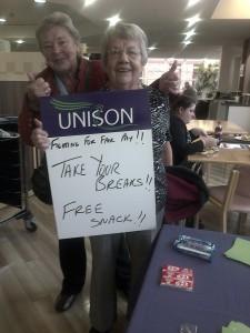 NHS pay breaks Ormskirk