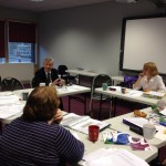 Tony Lloyd visits the Get Campaigning Course