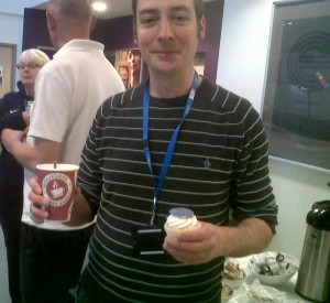Coffe and cake at Liverpool College event.