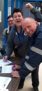 Staff signing 2
