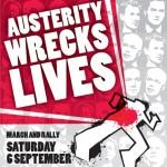 060914 Poster - Austerity Wrecks Lives